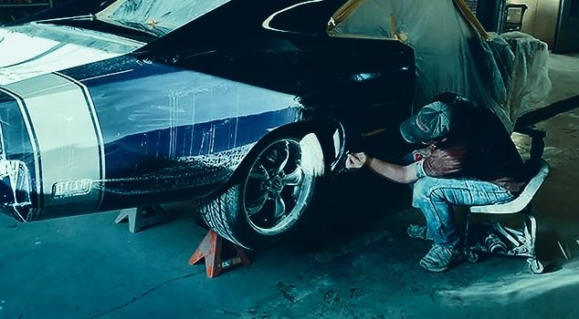how to wet sand a car before painting