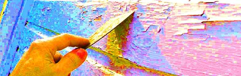 How to Use a Paint Scraper