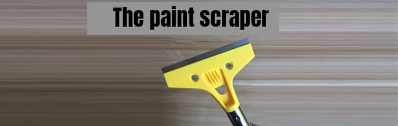 What Is the Paint Scraper